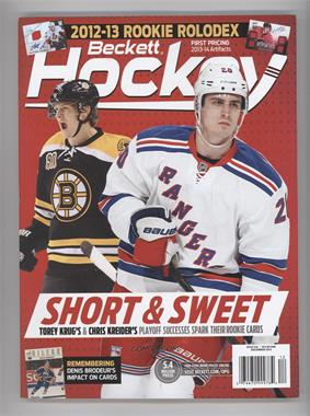 1990-Now Beckett Hockey - [Base] #12-13 - December 2013 (Torey Krug, Chris Kreider)