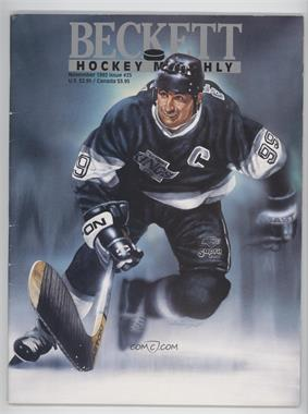1990-Now Beckett Hockey - [Base] #25 - November 1992 (Wayne Gretzky) [GoodtoVG‑EX]