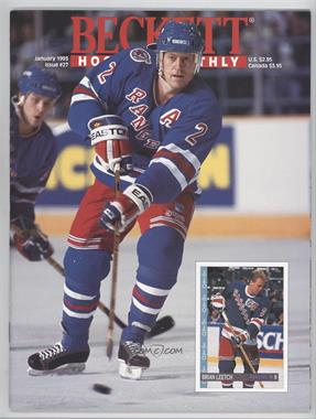 1990-Now Beckett Hockey - [Base] #27 - January 1993 (Brian Leetch)