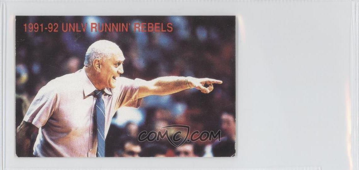 1991 92 Nevada Las Vegas UNLV Runnin Rebels