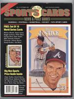October 1992 (David Justice) [Good to VG‑EX]