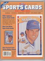 August 1992 (Ryne Sandberg) [Good to VG‑EX]