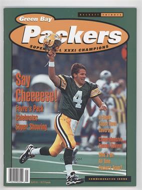 1993-99 Beckett Tribute - [Base] #GBPA - Green Bay Packers Super Bowl XXXI Champions (Brett Favre, Reggie White)