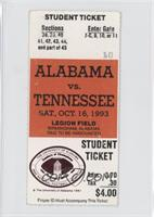 vs. Tennessee Volunteers