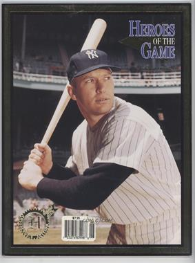 1994 Heroes of the Game - [Base] #12 - Mickey Mantle