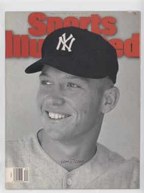 1995 Sports Illustrated - [Base] #8-21 - Mickey Mantle [Good to VG‑EX]