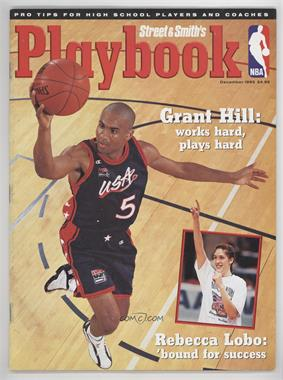 1995 Street and Smith's Playbook - [Base] #12 - December (Grant Hill, Rebecca Lobo)