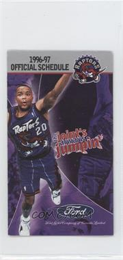1996-97 Toronto Raptors - Team Schedules #DAST - Damon Stoudamire