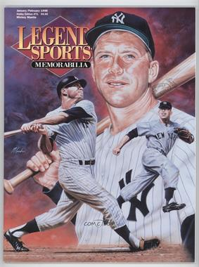 1996 Legends Sports Memorabilia - [Base] #71 - January/February (Mickey Mantle)