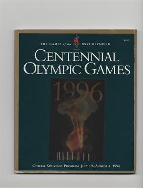 1996 Summer Olympics - Official Souvenir Program #XXVI - Centennial Olympic Games [GoodtoVG‑EX]