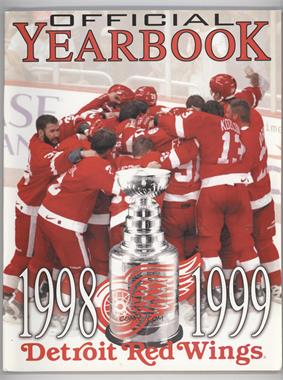 1998-99 Detroit Red Wings - Official Yearbook #DERW - Detroit Red Wings Team