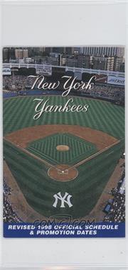 1998 New York Yankees - Team Schedules #YAST - Yankee Stadium (Revised)
