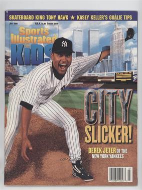 1998 Sports Illustrated for Kids - [Base] #7 - July (Derek Jeter) [GoodtoVG‑EX]