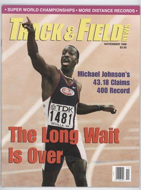 1999 Track and Field News - [Base] #11 - Michael Johnson