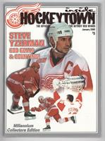 January 2000 (Steve Yzerman) [Good to VG‑EX]