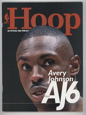 2001-02 Hoop Magazine - [Base] - From Arena #AVJO - Avery Johnson