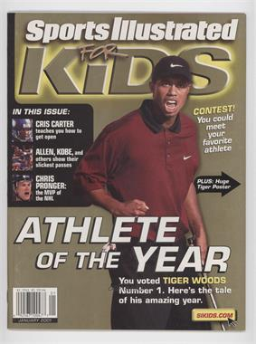 2001 Sports Illustrated for Kids - [Base] #1 - January (Tiger Woods)