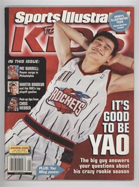 2003 Sports Illustrated for Kids - [Base] #5 - May (Yao Ming)