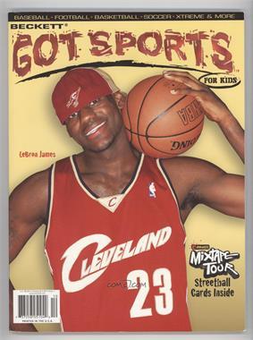 2004 Beckett Got Sports For Kids - [Base] #1 - Lebron James