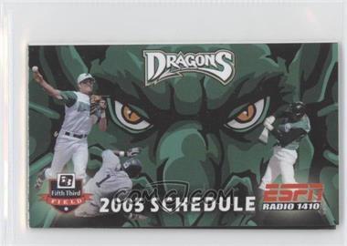 2005 Dayton Dragons - Team Schedules #DADR - Dayton Dragons