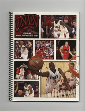 2006-07 Nevada-Las Vegas (UNLV) Runnin' Rebels - Men's Basketball Media Guide #UNLV - UNLV Rebels Team, Joel Anthony