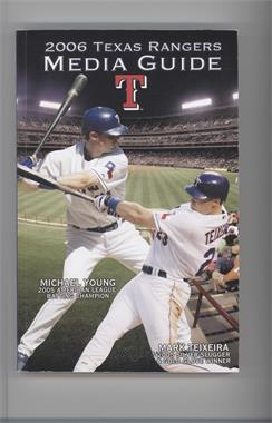 2006 Texas Rangers - Media Guide #MYMT - Michael Young, Mark Teixeira