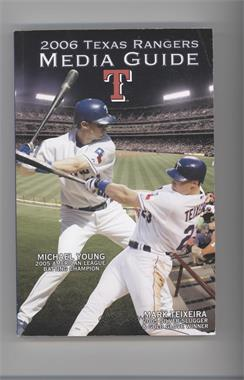 2006 Texas Rangers - Media Guide #MYMT - Michael Young, Mark Teixeira [Good to VG‑EX]