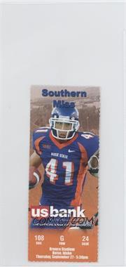 2007 Boise State Broncos - Football Ticket Stubs #9-27 - vs. Southern Mississippi Golden Eagles (Ian Johnson)