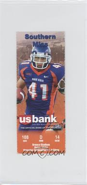 2007 Boise State Broncos - Football Ticket Stubs #9-27 - vs. Southern Mississippi Golden Eagles (Ian Johnson)