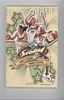 Sue Bird, Lauren Jackson, Betty Lennox