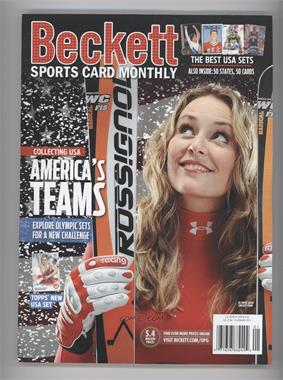 2008-Now Beckett Sports Card Monthly - [Base] #1-14 - January 2014 (Lindsey Vonn)