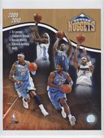 Denver Nuggets (Ty Lawson, Chauncey Billups, Kenyon Martin, Carmelo Anthony, Ne…