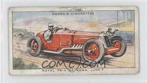 1931 Ogden's Motor Races 1931 - Tobacco [Base] #13 - Royal Prix De Roma, June 7 [Good to VG‑EX]
