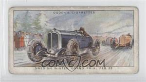 1931 Ogden's Motor Races 1931 - Tobacco [Base] #2 - Swedish Winter Grand Prix, Feb. 23 [Good to VG‑EX]