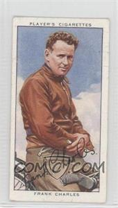 1937 Player's Speedway Riders - Tobacco [Base] #6 - Frank Charles