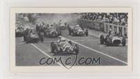 Start of the 1951 Grand Prix d'Europe at Rheims