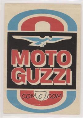 1972 Donruss Super Cycles AMA Stickers - [Base] #50 - Moto Guzzi