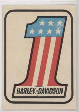 1972 Donruss Super Cycles AMA Stickers - [Base] #65 - Harley-Davidson