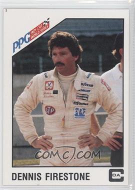 1983 CDA PPG Indy Car World Series - [Base] #2 - Dennis Firestone