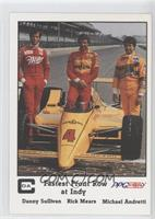 Fastest Front Row at Indy (Danny Sullivan, Rick Mears, Michael Andretti)