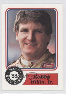 1988 Maxx - [Base] #52 - Bobby Hillin Jr.