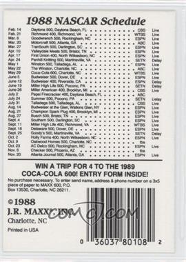 1988 Maxx - [Base] #69.1 - Checklist #3 (#59: 1988 Begins!)