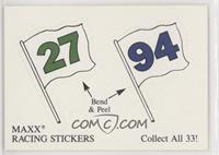 Maxx Racing Stickers #27, Maxx Racing Stickers #94