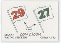 MAXX Racing Stickers #29, MAXX Racing Stickers #27
