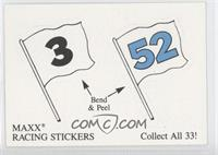 MAXX Racing Stickers #3, MAXX Racing Stickers #52