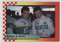 Kenny Wallace, Rusty Wallace