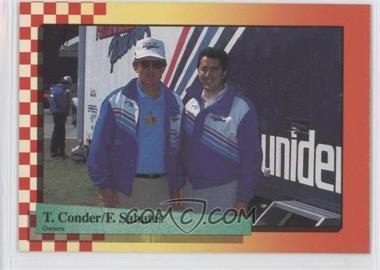 1989 Maxx Racing - [Base] #39 - Felix Sabates, Ted Conder