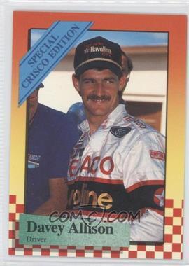 1989 Maxx Special Crisco Edition - [Base] #10 - Davey Allison