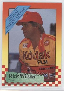 1989 Maxx Special Crisco Edition - [Base] #15 - Rick Wilson