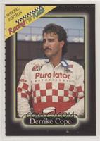 Derrike Cope [Noted]